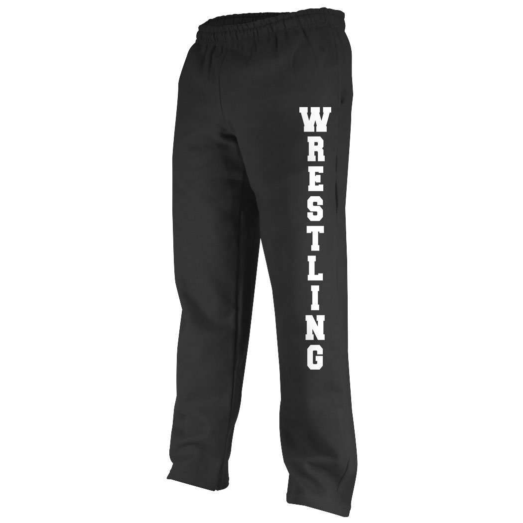 ChalkTalkSPORTS  Wrestling Fleece Sweatpant Wrestling  Black Medium by ChalkTalkSPORTS