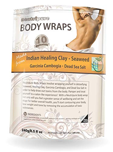 DIY Body Wrap: SPA Formula for Home Use: Seaweed, Healing Clay, Garcinia Cambogia, and Dead Sea Salt