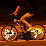 216 LED Programmable DiY Bicycle Wheel Light Bike Wheel Spoke Light Bicycle Hot Wheels