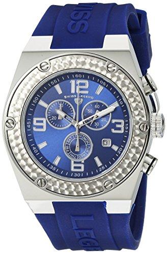 Swiss Legend Throttle - Swiss Legend Men's 30025-03 Throttle Chronograph Blue Dial Watch