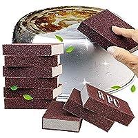 Krisler Carborundum Sponge Nano Emery Sponges Caspian Stone Pot Clean Brush Rust Eraser Grit Scouring Pads Pot Cleaning…