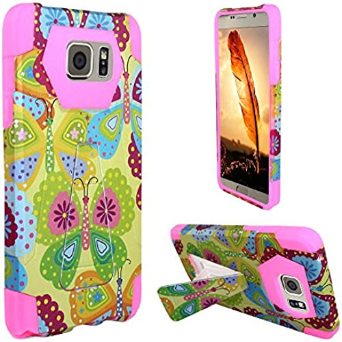 Galaxy S7 Active Case, Balaji Summer Butterflies Dual Layer [Shock Absorbing] Protection Hybrid Stand PC/Silicone Case Cover For Samsung Galaxy S7 Active Sales