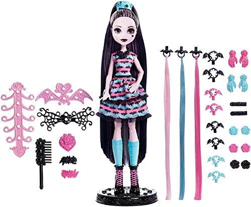 Monster High Girls Party Hair Draculaura Doll ()