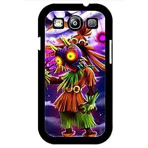 Majora's Mask Legend of Zelda Phone Case Design Black Hard Plastic Case Cover For Samsung Galaxy S3 Legend of Zelda Series