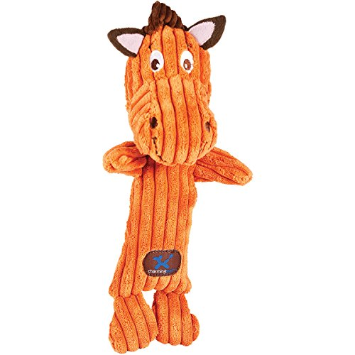 Charming Pet Heads Pet Squeak Toy, Horse (Discontinued by Manufacturer) by Charming