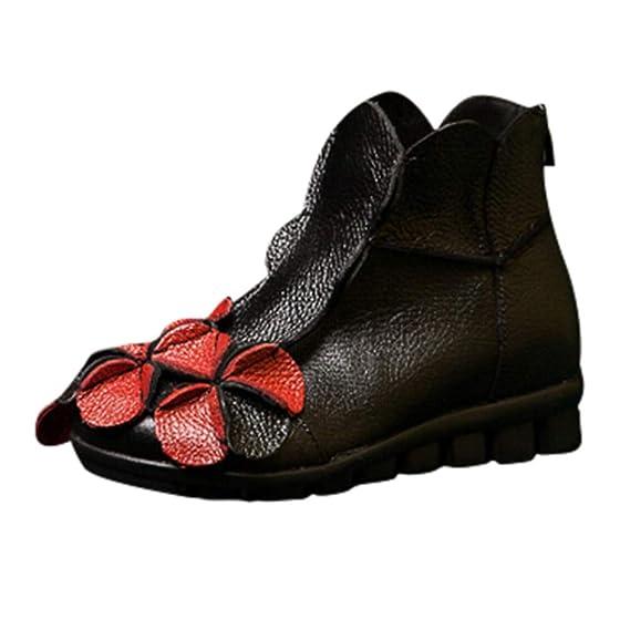 Mocasines Zapatos De Mujer De Cuero Mujer ZARLLE Zapatos De Ballet Zapatos Casuales Mujer Primavera Verano Informal Plano Cómodo Cuero Redondo Cabeza ...