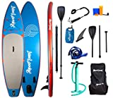 """Aquaplanet 10ft 6"""" x 15cm PACE Stand Up Paddleboard - Incl: SUP, H"""