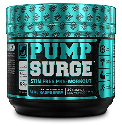 PUMPSURGE Caffeine Free Pump