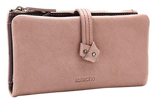 Abbacino AW16 WALLET VEGA/NUDE - Cartera de mano para mujer, color rosa, talla Talla unica: Amazon.es: Zapatos y complementos