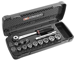 """Facom PG.S1 - Estuche de herramientas de apriete de 1/2"""" (con llave de carraca S.161)"""