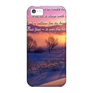 New Premium ChrisArnold I Took My Snowball Home With Me;0) Skin Cases Covers Excellent Fitted For Iphone 5c