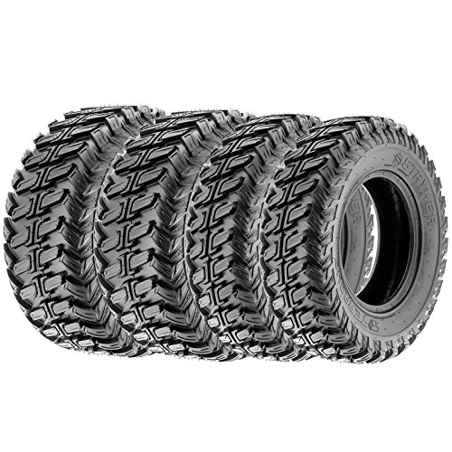 Terache STRYKER AT All Trail ATV UTV Tires 28x9-14 & 28x11-14 8 Ply (Complete Set of 4, Front & Rear) by Terache (Image #1)