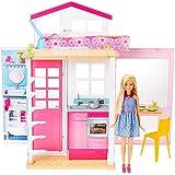 Boneca Barbie E Sua Casa, Mattel, Loira