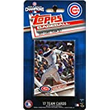 Chicago Cubs 2017 Topps Factory Sealed Limited Edition 17 Card Team Set with Kris Bryant Kyle Schwarber Plus 2016 World Series Champions