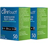 Care Touch Blood Glucose Test Strips (100 Count) for Use with Care Touch® Monitor