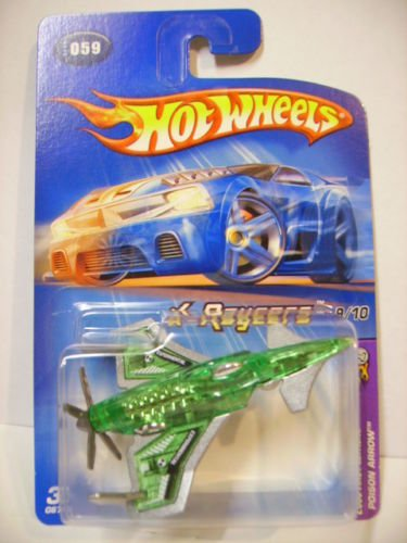 2005 Hot Wheels First Editions X-Raycers 9/10 - Poison Arrow - Green ()