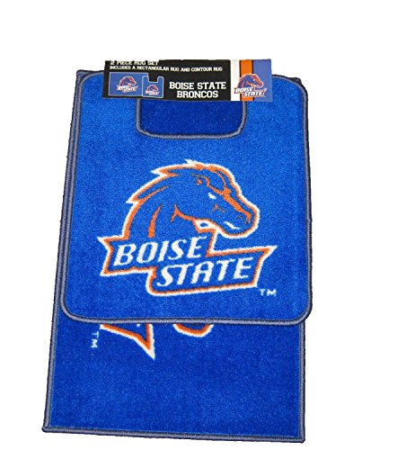 The Northwest Company NCAA Officially Licensed Two (2) Piece Bathroom Rug Set (Boise State Broncos)