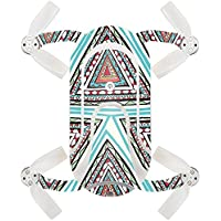 Skin For ZEROTECH Dobby Pocket Drone – Aztec Pyramids | MightySkins Protective, Durable, and Unique Vinyl Decal wrap cover | Easy To Apply, Remove, and Change Styles | Made in the USA