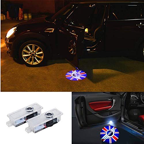 Door Light LED Logo Projector Light For Mini Cooper Clubman Clubvan R55 F54 09-17 Countryman R60 10-17 Paceman R61 12-16 Roadster R59 12-16 (2 Pcs) ...