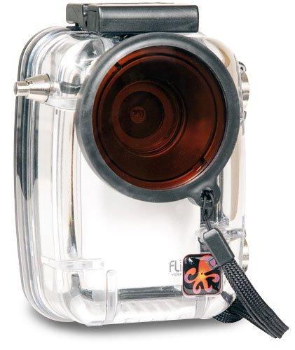 Underwater Waterproof Hard Camera Housing Case for Flip Slid