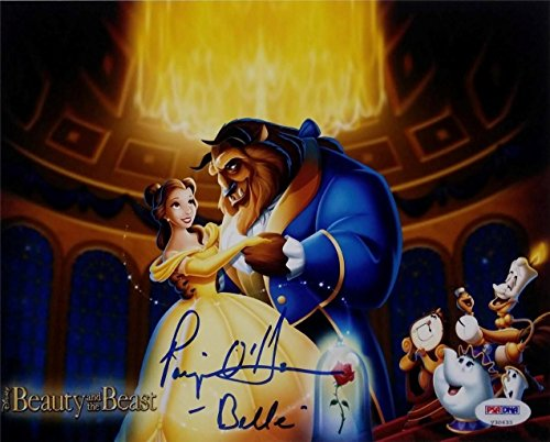 Paige O'Hara Signed Belle 8x10 Disney Dream And The Beast Photo PSA V30633 Auto