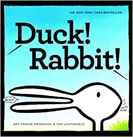 Duck Rabbit Amy Krouse Rosenthal Tom Lichtenheld 8601400518205 Amazon Books