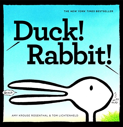 Book Cover: Duck! Rabbit!