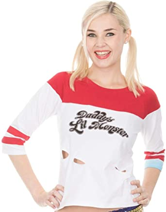 Suicide Squad Harley Quinn Daddys Little Monster - Camiseta para mujer