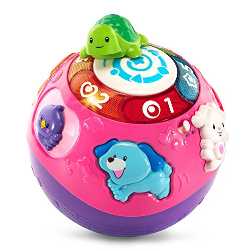 VTech Wiggle & Crawl Ball, Purple (Amazon Exclusive)