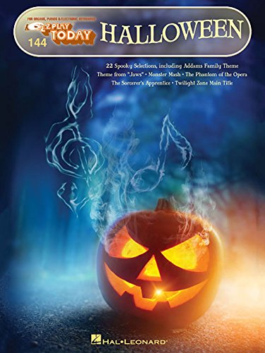 Halloween: E-Z Play Today #144 (E-Z Play Today For Organs, Pianos & Electronic Keyboards) -