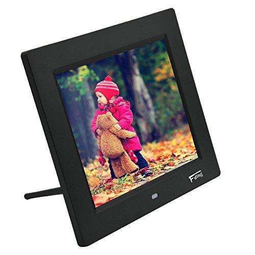Fding 8 Inch Hi-Resolution LED Digital Photo Frame