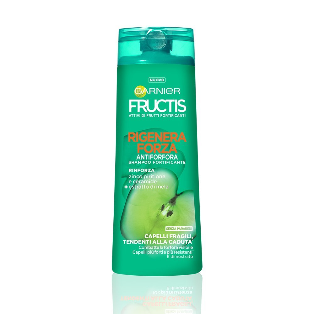 Garnier Fructis Rigenera Forza Shampoo Antiforfora per Capelli Fragili  Tendenti alla Caduta - 250 ml  Amazon.it  Amazon Pantry 991ac5fa69af