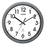Vedette - VP40002 - Charcoal Grey Radio-Controlled Pendulum Clock – Plastic