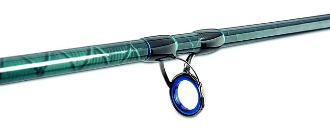 Kohlefaserblank AQUANTIC Sea Picker Plattfischpickerrute WG bis 80g drei Vollglas-Wechselspitzen L/änge 2,40m oder 2,70m