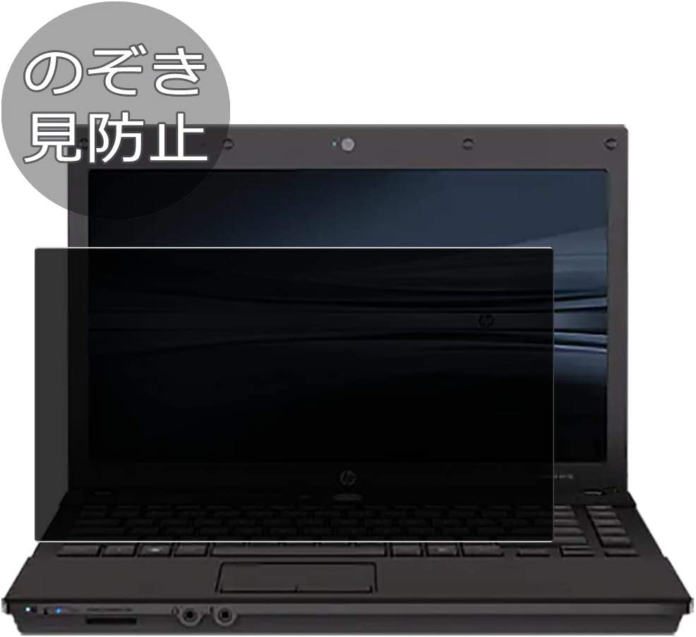"""Synvy Privacy Screen Protector Film for HP ProBook 4410s 14"""" Anti Spy Protective Protectors [Not Tempered Glass]"""