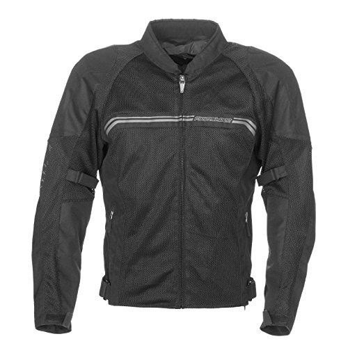 Fieldsheer Men's Hi-Flow Mesh Jacket (Black, Xx-Large)