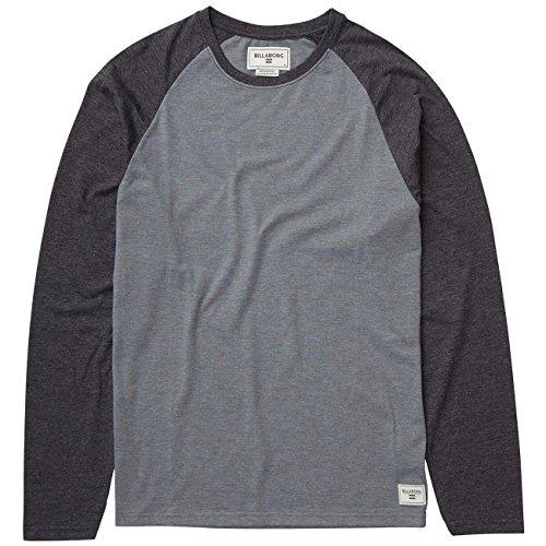 Billabong Herren T-Shirt ALL DAY RAGLAN LS TE - GREY HEATHER