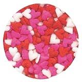 Mini Heart Sprinkles 2.8 Ounces by CK
