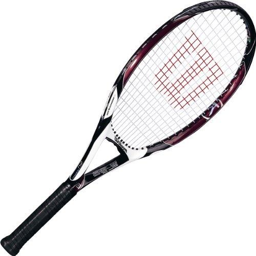 Wilson [K] Zero Strung Performance Value Tennis Racket (Red/Black, 4 1/4)