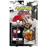 Pokemon Throw Poke Ball B&W Series #1 Tepig (Fire Type Starter with Poke Ball)