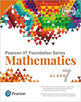Buy Pearson IIT Foundation Maths Class 7 Book Online at Low