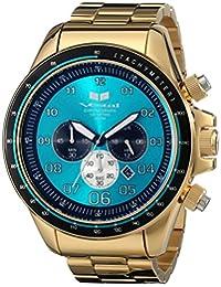Vestal Men's ZR3030 ZR-3 Analog Display Japanese Quartz Gold Watch