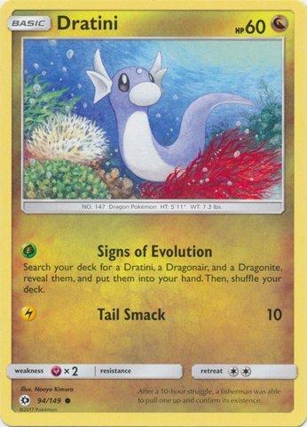 Evolution  50//108 Smogon Reverse Holo Pokemon