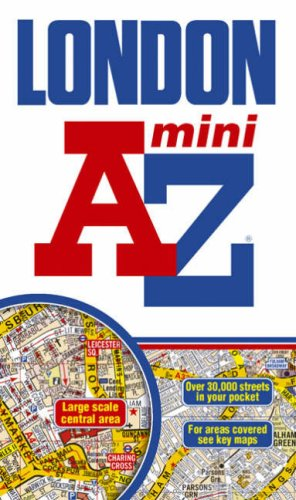 London Mini Street Atlas AZ 1:21,477 (A-Z Street Atlas)