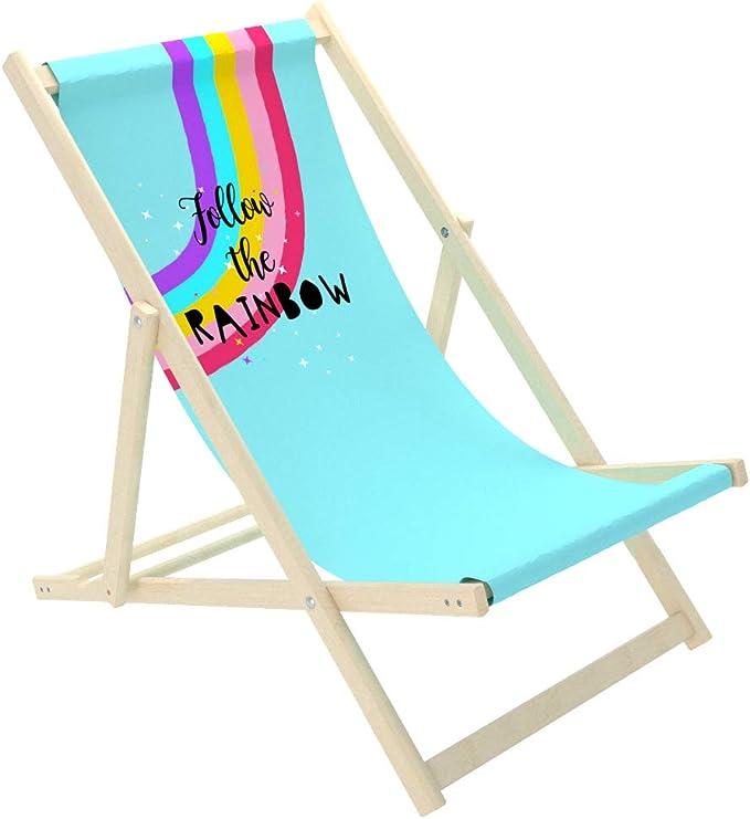 giardino Sedia a sdraio per bambini sedia da sole Novamat Baby Spiaggia in legno balcone da spiaggia pieghevole