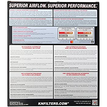 K&N 33-2387 High Performance Replacement Air Filter for 2007-2013 Toyota Tundra, 2008-2013 Toyota Sequoia, 2008-2017 Toyota Land Cruiser, 2008-2013 Lexus LX570