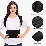 Back Brace Posture Corrector for Women and Men Back Lumbar Support Shoulder Posture Support for Improve Posture Provide and Back Pain Relief