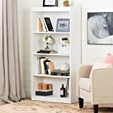 South Shore Axess Collection 4-Shelf Bookcase, Pure White