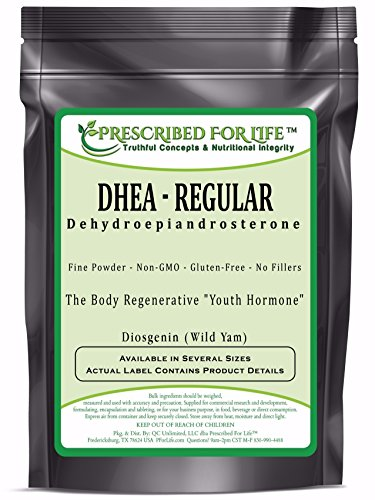 DHEA - Didehydroepiandrosterone Regular Wild Yam Powder - 'The Youth Hormone' - 12 oz by Prescribed For Life
