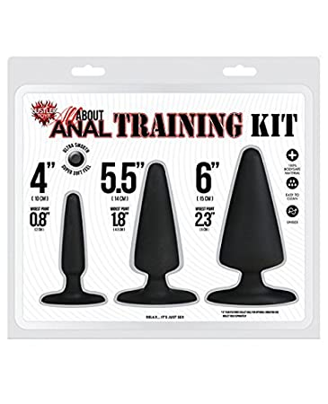 Anal training toys